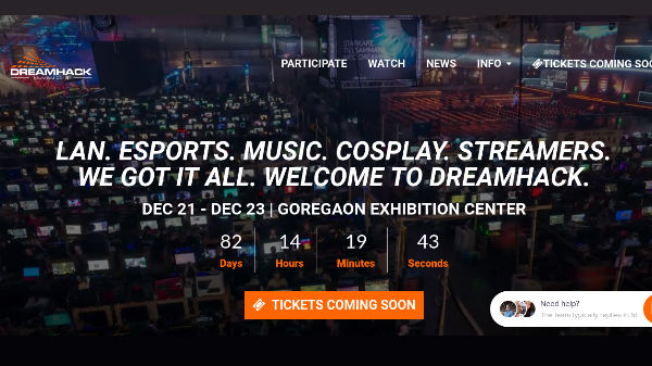 Dreamhack coming to India on December 21: Grab the tickets at Rs 399