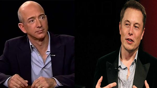 Amazon's Jeff Bezos to compete with Elon Musk with its space venture