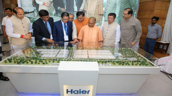 Haier signs MOU with UP Govt to set up second industrial park