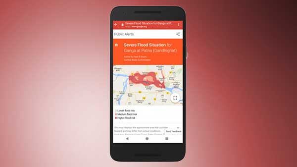 Google's AI flood alerts feature might save a lot of lives in India