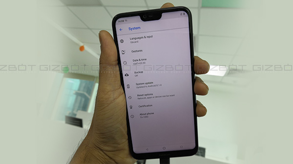 Nokia 6.1 Plus August security update removes 'Hide Notch' feature