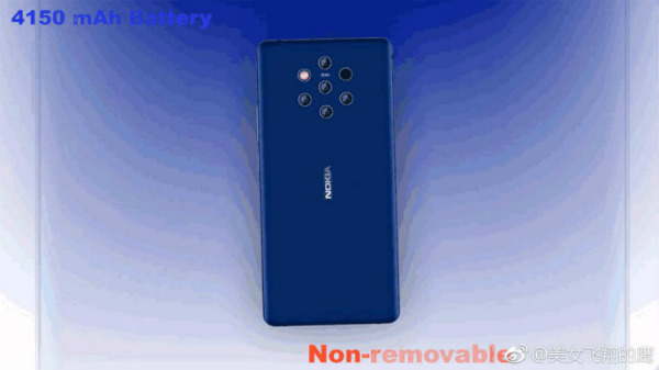 Nokia 9 to use a 4150mAh battery, hints leaked image