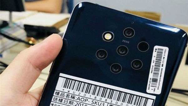 Nokia 9 with penta-lens camera gets MIIT certification