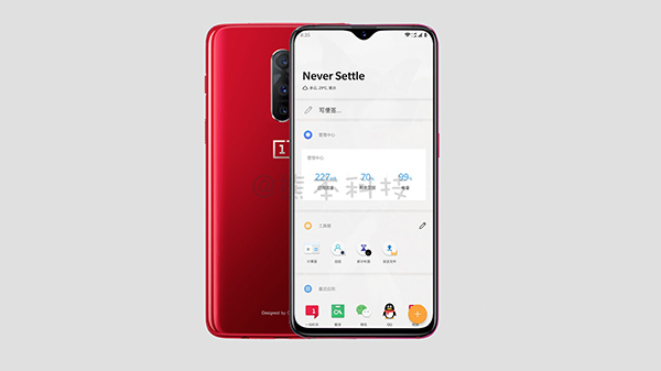 OnePlus 6T official render leaked: Water drop notch, triple cameras
