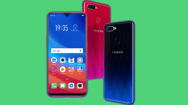 Oppo F9 vs other budget smartphones with 6 inch display