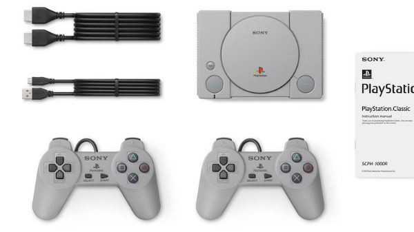 Sony announced PlayStation Classic mini with 20-pre-loaded games