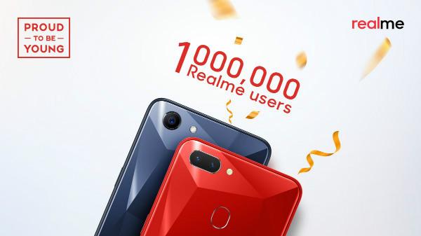 Realme 1 and Realme 2 Sales Crosses 1 Million in India