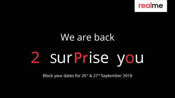 Realme 2 Pro India launch pegged for September 27