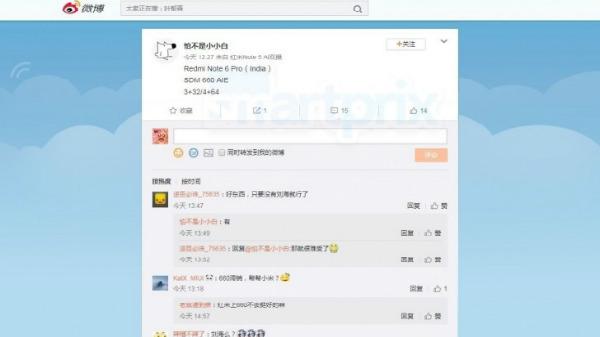 Xiaomi Redmi Note 6 Pro to use Snapdragon 660