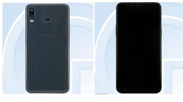 Samsung Galaxy P30 with a rear-facing fingerprint sensor leaked