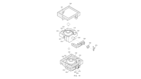 Samsung wins patent for rotating camera sensor for smartphones