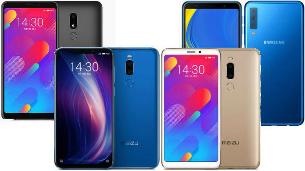 Week 37, 2018 launch round-up: Samsung Galaxy A7 (2018), Xiaomi Mi 8 Lite, Meizu X8 and more