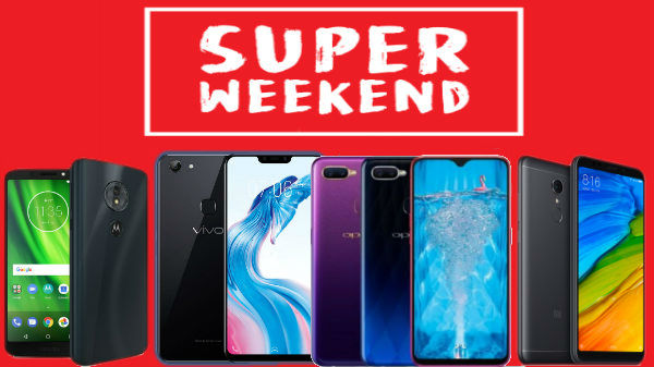 Weekend offers on smartphones: Oppo F9 Pro, Nova 3i and more