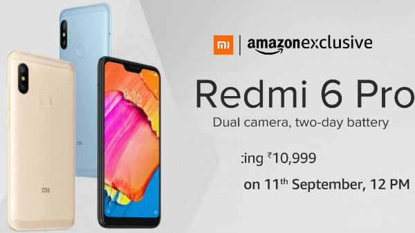 Xiaomi Redmi 6 Pro vs other budget smartphones