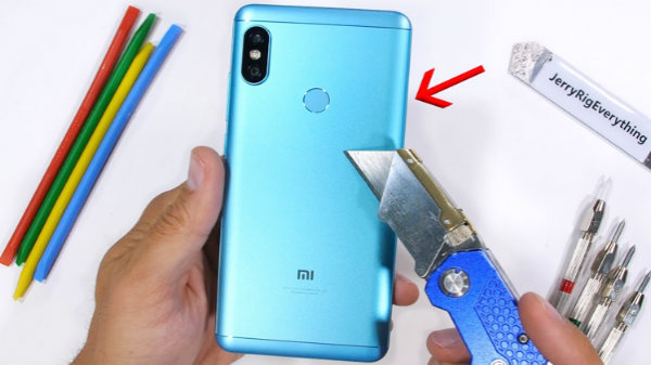 Xiaomi Redmi Note 5 Pro manages to survive durability test