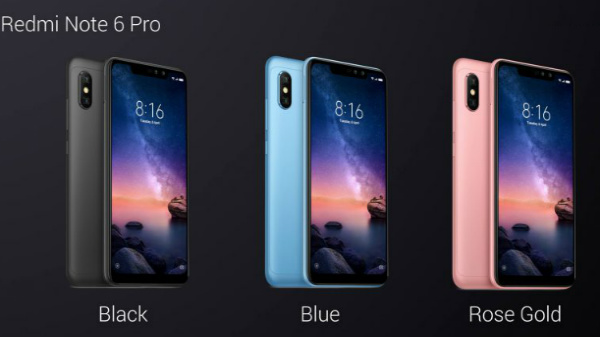 Xiaomi Redmi Note 6 Pro goes official; priced around Rs. 16,000