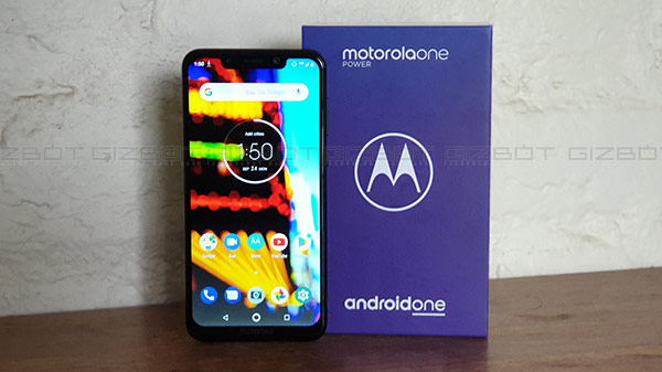 Motorola One Power First Impressions: Massive battery and stock Android UI in mid-range