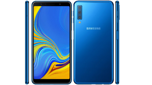 Samsung Galaxy A7 2018 with triple cameras to launch in India on the 25th of September