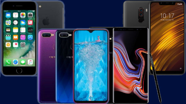 Top trending phones of Last week: Poco F1, Oppo F9 and more