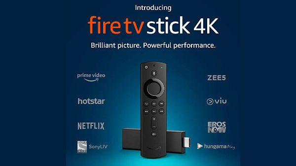 Amazon launches Fire TV Stick 4K and Alexa Voice Remote in India for Rs 5999