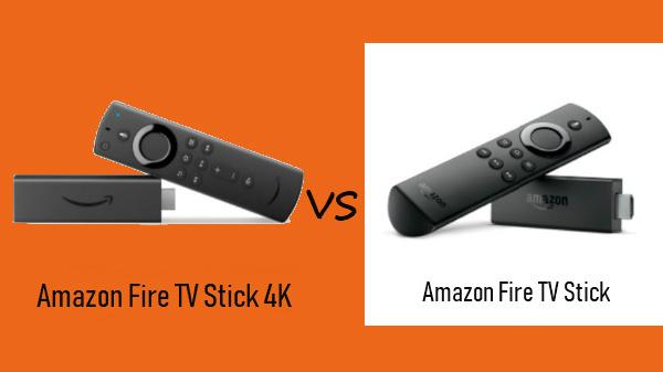 Amazon Fire TV Stick 4K Vs Amazon Fire TV Stick: The six major ...