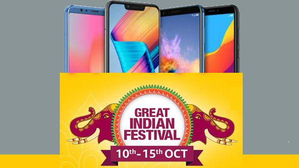 Amazon Great Indian Festival sale offers up to Rs. 15,000 discount
