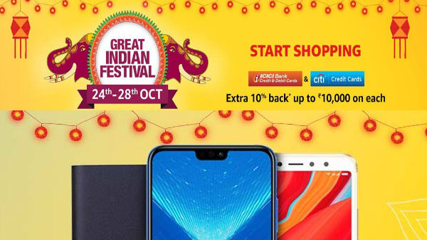 Amazon Great Indian Festival Sale: Get up to 40% off on smartphones