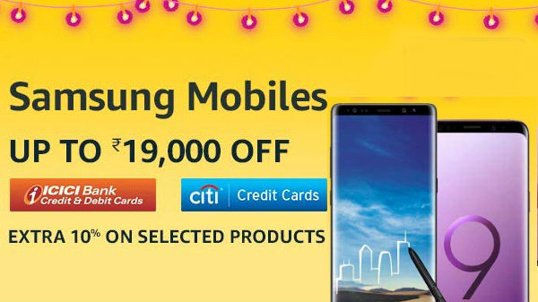5952127b0 Amazon Great Indian Diwali Festival Sale  Upto 50% offers on the Samsung  smartphones