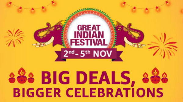 Amazon Great Indian Festival Sale 'Wave 3' starts November 2