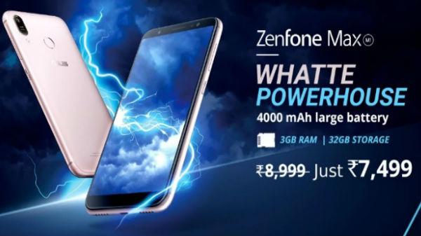 Asus ZenFone Max M1 vs other budget smartphones
