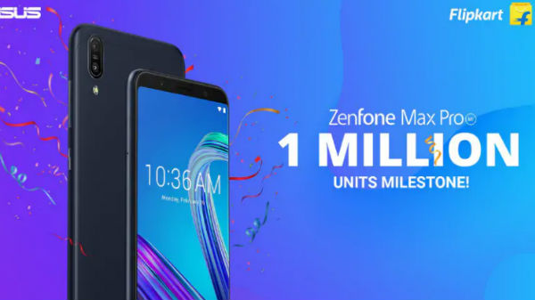 Asus sold 1 Million units of ZenFone Max Pro M1 in India