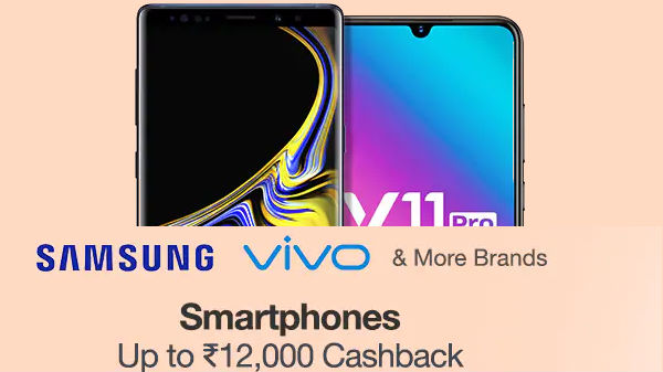 97c94119b Diwali offers on premium smartphones available with a cashback of up to Rs  10