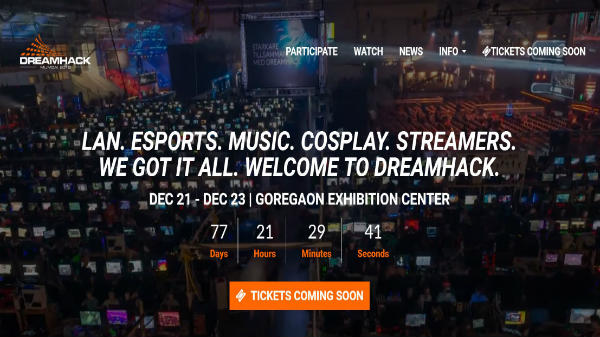 DreamHack 2018 Mumbai: The biggest LAN party in India