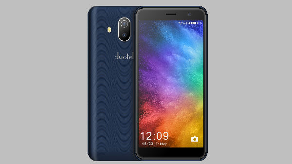 Ziox Mobiles launches Duotel D1 with dual-camera setup for Rs 5,399