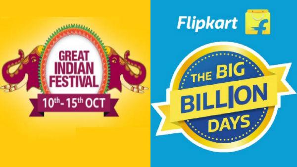 Flipkart and Amazon festive sale offers on premium smartphones