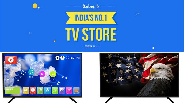 Flipkart Big Billion Day exciting deals and discounts on Kodak TVs