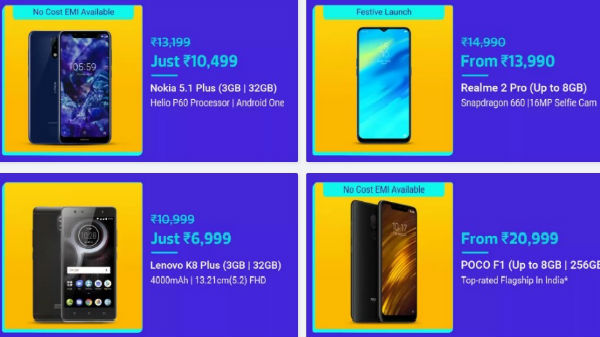 Flipkart Dhamaka Festival offers: Lucractive discounts on budget phone