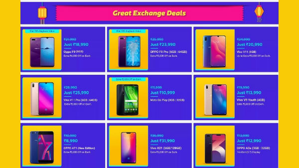 Flipkart Dhamaka Festival Sale: Irresistible exchange offers on phones