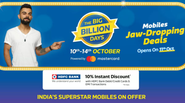 Flipkart Big Billion Days Sale: Smartphones offers and discount