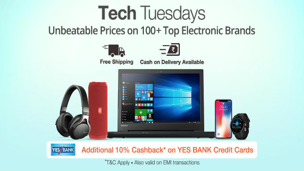 Paytm Mall 'Tech Tuesday': Offers cashback of Rs. 8,500