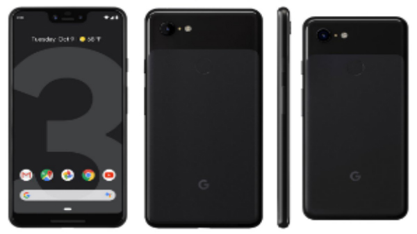 Google Pixel 3, Pixel 3 XL will be available in three different colors