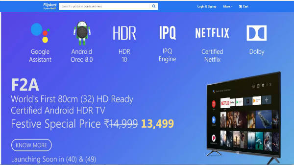 iFFALCON  launches 32F2A HD-ready TV for Rs 14,999