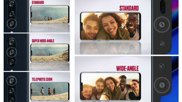 LG V40 ThinQ will have a five camera setup with super wide angle lens