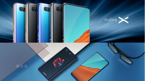 Nubia X with dual displays and no front camera launched in China