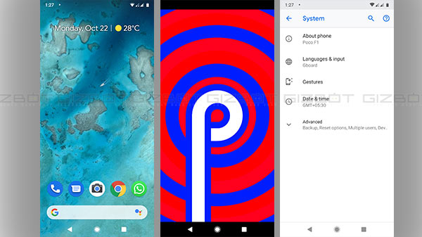 Pixel Experience ROM now available for the Xiaomi Poco F1 based on