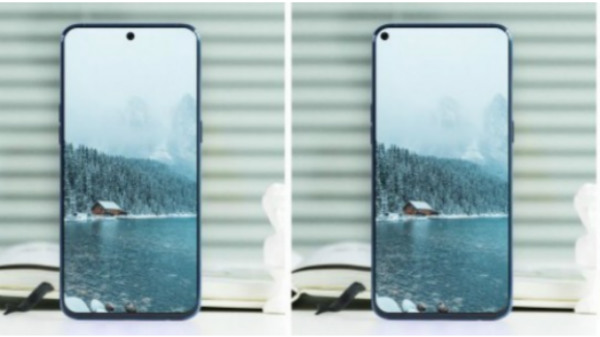 Samsung Galaxy A8s with a hole on its display teased