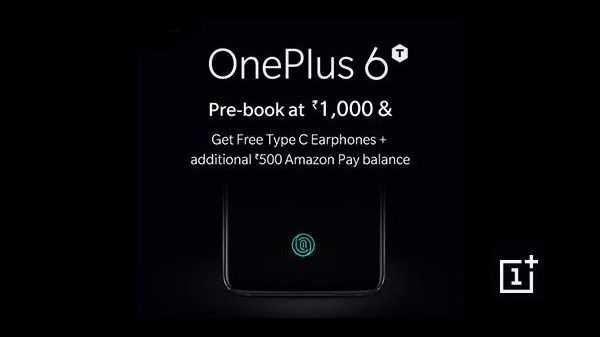 OnePlus 6T spotted on Amazon India for pre-orders ahead of launch