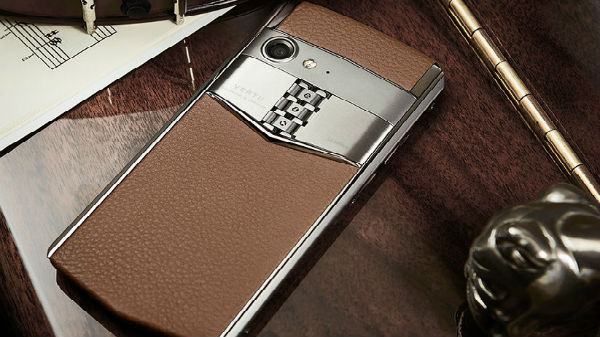 Vertu Aster P with real leather announced starting from Rs. 3 lakh