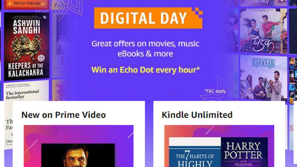 Amazon Digital Day Sale: Discounts and deals you can avail today