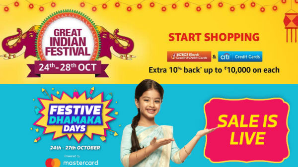 Diwali offers on Amazon and Flipkart: Discounts on premium smartphones